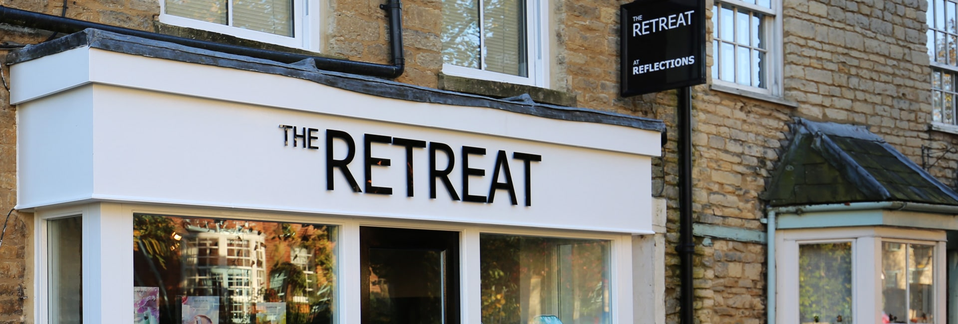 The Retreat beauty salon in Brackley